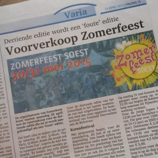 Zomerfeest in de Soester Courant