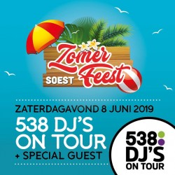 538 DJ'S ON TOUR OP ZOMERFEEST
